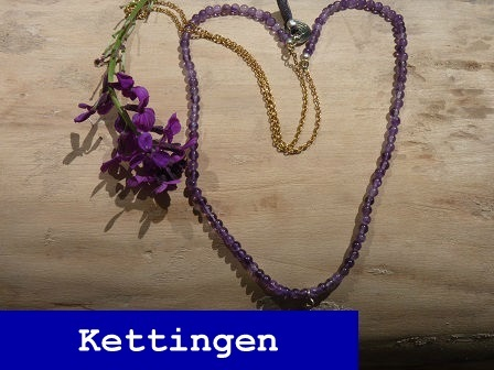 A beautiful story ketting Gem Amethyst