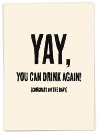 kaartje - Drink again