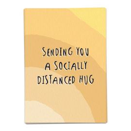 sending you a socially distanced hug - kaartje