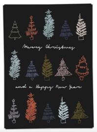 Color Trees - kaartje