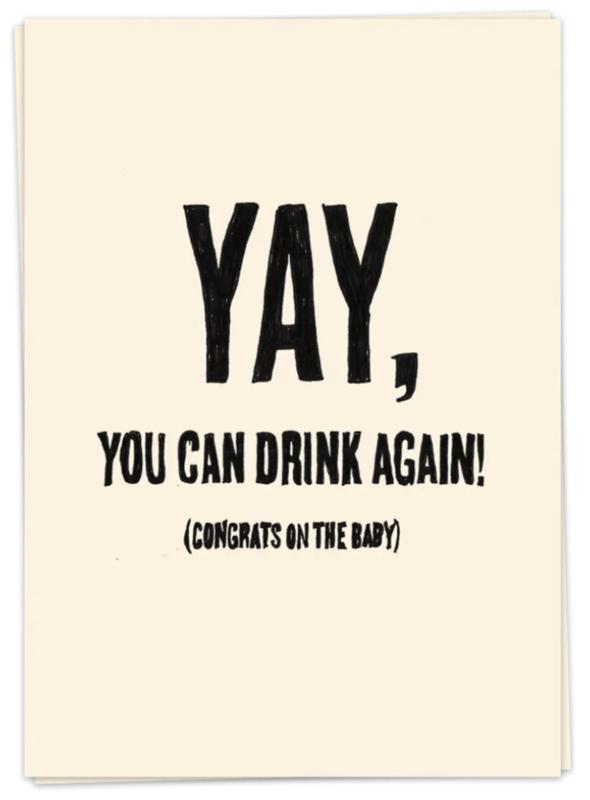 Drink again - kaartje