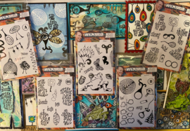 Junk Journal Stamps designed by Soraya (29-01-20)