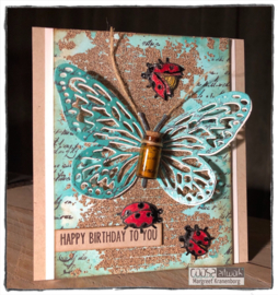 Carabelle Cling Stamp - Ladybugs