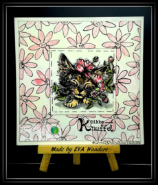 COOSA Crafts Clear Stamps #18 - All you need A7 by Famke