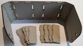 Tando Mini Trinket Box - 381mm x 75mm (opened flat)