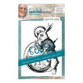COOSA Crafts clear stamp #08 - Fusion - Watch the Rabbit A7