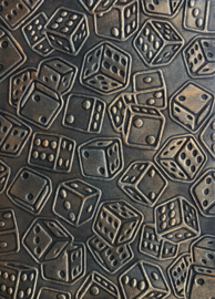 COOSA Crafts Embossing Folder - Rolling Dice