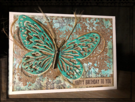 COOSA Crafts clear stamp #05 - Wall A6