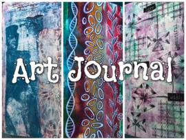 Art Journal - ga lekker je gang
