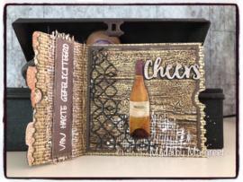 Spellbinders Stamp + Die - Wine Corks - 5 Pkg