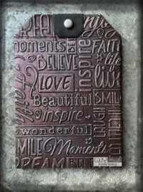 COOSA Crafts Embossing Folder - Inspire by Margreet