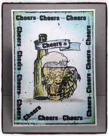 COOSA Crafts clear stamp #09 - Fusion - Tasting Beer (EN) A7
