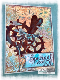 COOSA Crafts clear stamp #12 - Mixed for You A6