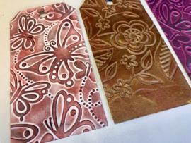 Rood en Grafiet, twee nieuwe kleuren gilding wax