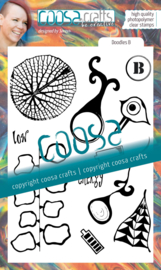COOSA Crafts Clear Stamps #19 - Junk Journal Doodles B by Soraya