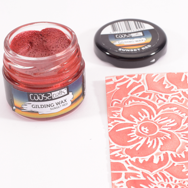 COOSA Crafts Gilding Wax 20 ml - Twilight - Sunset Red