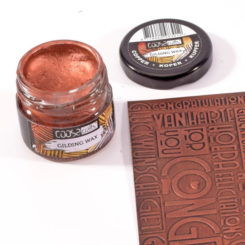 COOSA Crafts Gilding Wax 20ml - Metal Copper