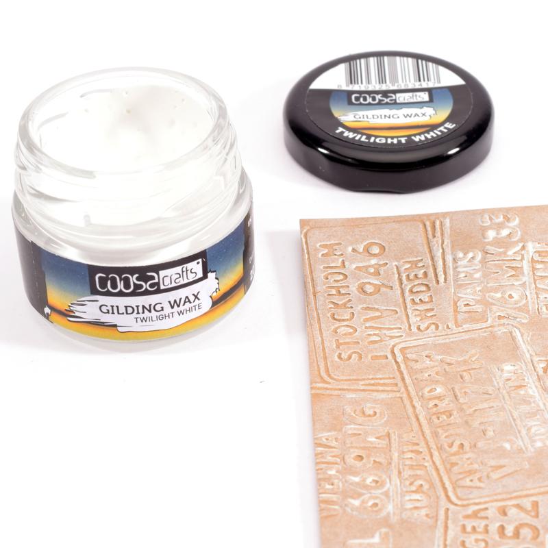 COOSA Crafts Gilding Wax 20 ml - Twilight - Twilight White