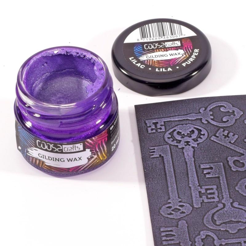 COOSA Crafts Gilding Wax 20ml - Metallic Lilac