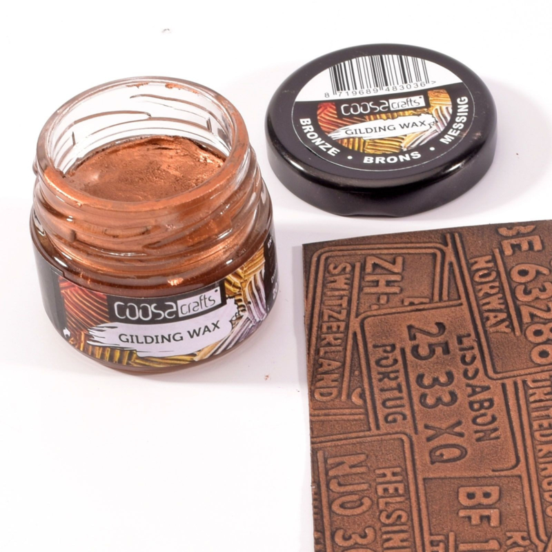 COOSA Crafts Gilding Wax 20ml - Metal Bronze