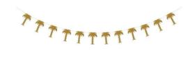 Palm Bomen Slinger - Glitter Goud - 250 m
