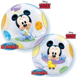 Disney Mickey - Baby - Bubbles balloon- 22 Inch/56cm