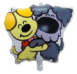 Woezel & Pip - Folie Ballon - 55x57cm