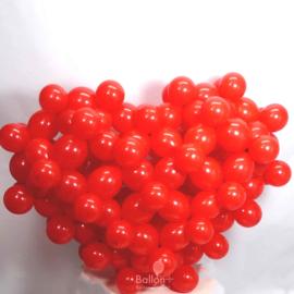 Ballon Latex Decoratie Hart - Rood