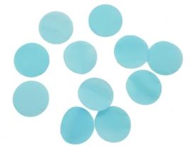 Confetti - Baby Blauw - Papier- 2 cm / 15 gr.