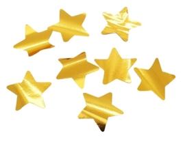 Confetti - Ster - Goud - Folie  -3 cm / 15 gr.