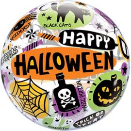 Happy Halloween - Bubbles Ballon -22Inch / 56cm