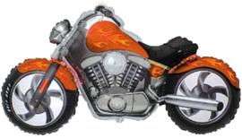 Motor - Oranje - Folie Ballon - 24 inch / 60cm