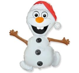 Frozen - Olaf - Kerst - Folie Ballon  - 24 Inch/60cm