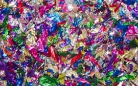 Confetti - Metallic - Div. kleuren. - 25 gr.
