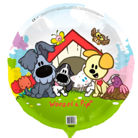 Woezel & Pip - Folie Ballon - 18 Inch/45cm
