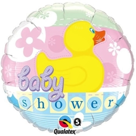 Baby shower - Eend - Folie ballon - 18 inch/45cm