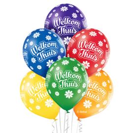 Welkom thuis - Latex ballonnen - 12 Inch/30 cm
