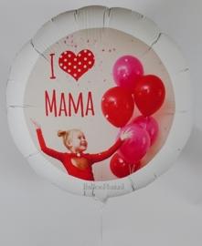 Foto Helium Ballon - XXL -met eigen Foto - Baby /Kind / Volw. Portret - Zonder Tekst