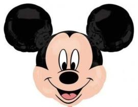 Disney - Micky Mouse Hoofd - XXL - Folie Ballon - 21Inch/53cm