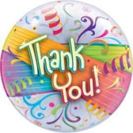Thank You! - Bubbels Ballon - 22 inch/56cm