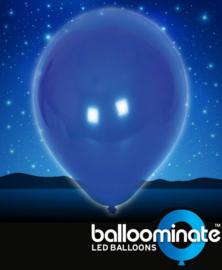 Balloominate - Led Ballonnen - Blauw - 5 st./27,5 cm