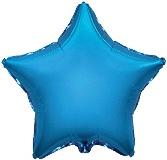 Ster - Blauw - Folie Ballon - 18 Inch/45 cm