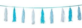 Tassel - Slinger Baby Blauw -  3 Meter