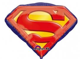 Superman - Logo  -  Folie Ballon XXL - 26 X 20 Inch /66x50 cm