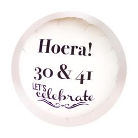 Eigen Tekst Helium Ballon - Verjaardag - Folie Ballon XXL