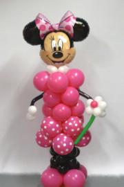 Minnie  ballonnen pilaar