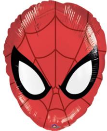 Spider-man - Hoofd - Folie Ballon - 18 Inch/45cm