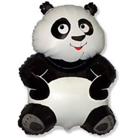 Panda Beer -Zwart Wit -Folie Ballon - 26 Inch / 66 cm