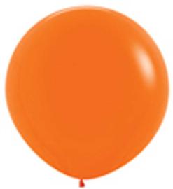 Grote Latex Ballon - Oranje - 36 Inch / 90 cm