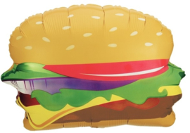 Hamburger  - XXL Folie Ballon - 28 Inch / 71cm